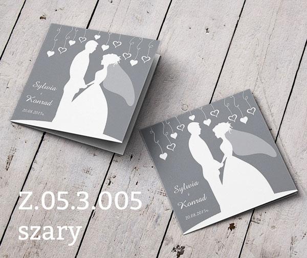Zaproszenia Na ślub Z053005