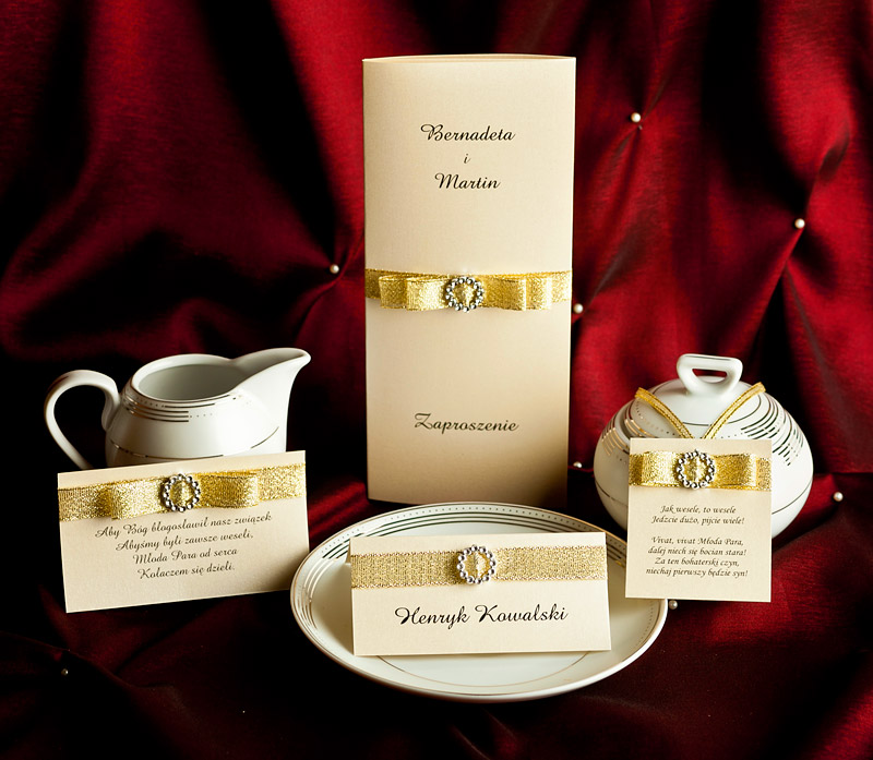 Zaproszenia ślubne Z020005 Aurelia