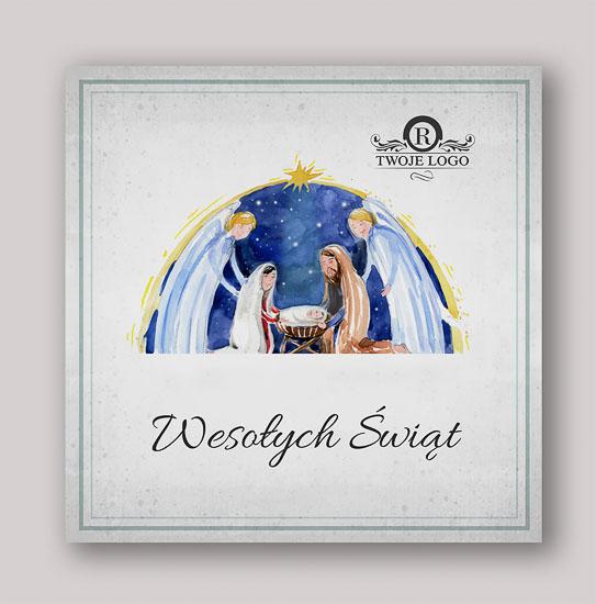 Religijne kartki świąteczne dla firm