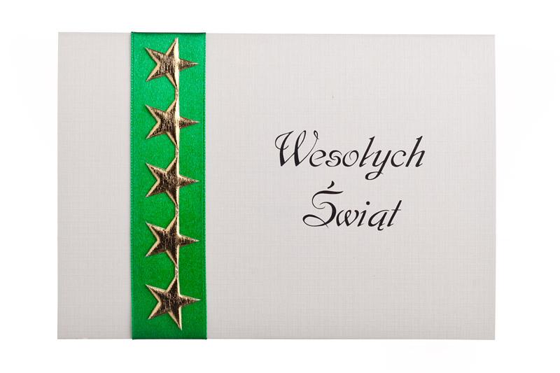 Ręcznie robione kartki świąteczne dla firm