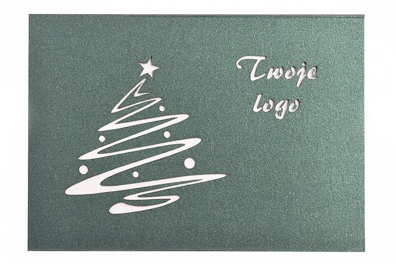 Laserowo wycinane kartki świąteczne dla firm i biznesu