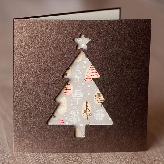 Laserowe kartki świąteczne firmowe biznesowe