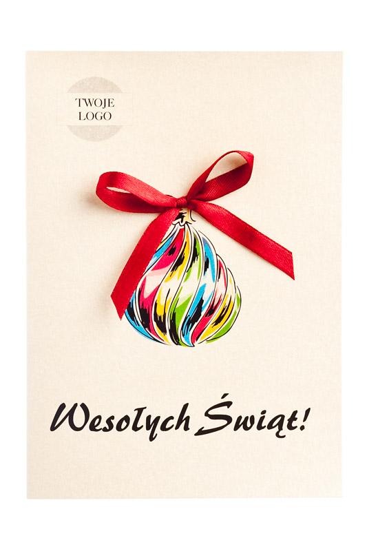 Tanie firmowe kartki świąteczne