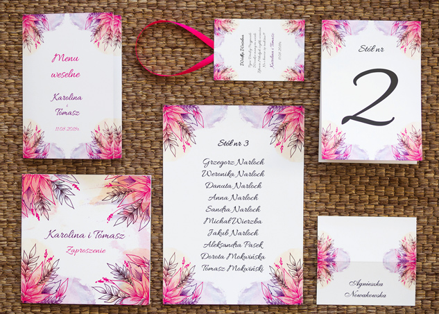 4ba47dd3 Tanie zaproszenia ślubne, winietki weselne, dodatki - Jumika